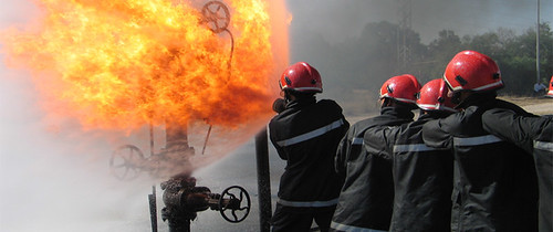 Safety & Fire Fighting department: | by Pictures from PTQI (Tripoli)