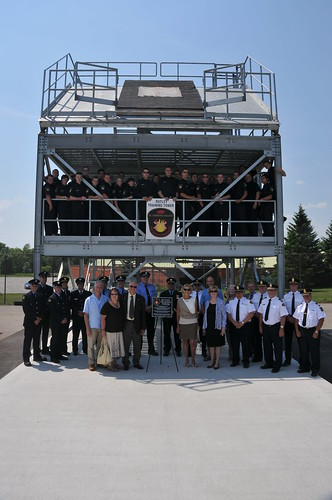 Rutley Training Tower Dedication