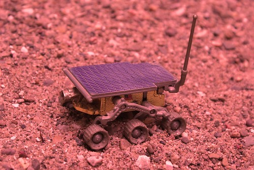 Hot Wheels NASA Mars Rover Sojourner | by HaarFager