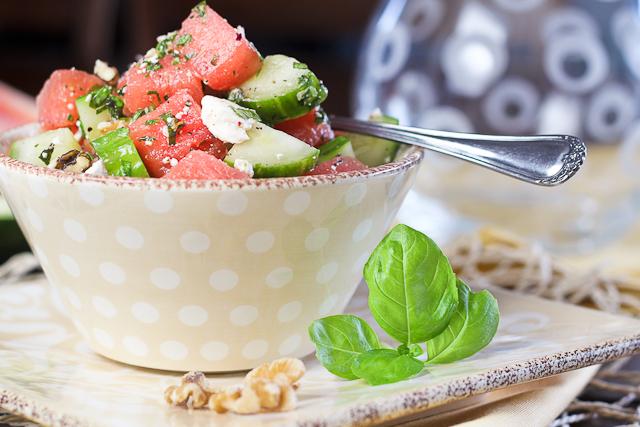 Watermelon Cucumber Salad-13