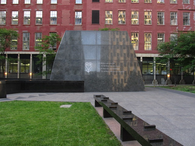 African Burial Grounds National Monument, Manhattan, New York