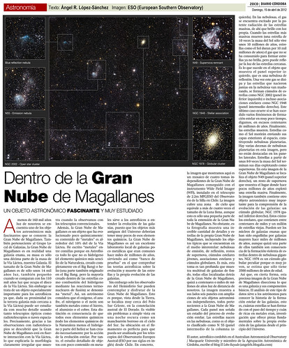 ZOCO Astronomía: Dentro de la Gran Nube de Magallanes | by Ángel López-Sánchez