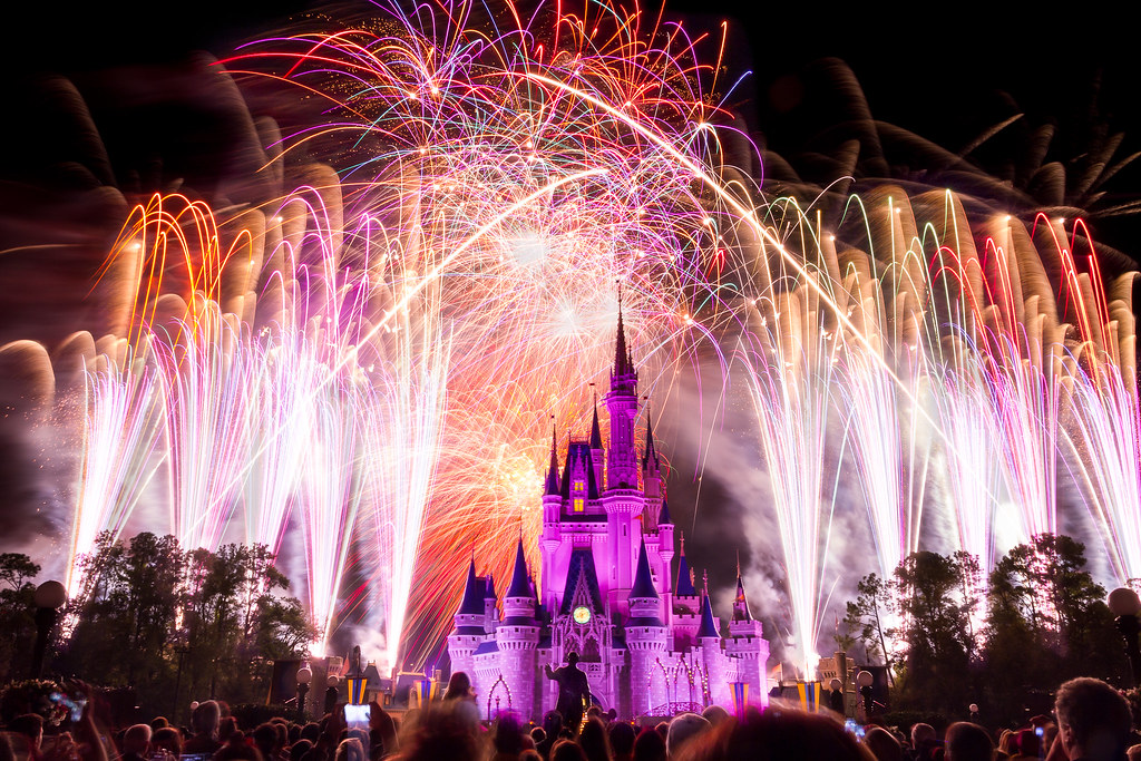 Magic Kingdom - Wishes Captured | 60 seconds of the finale  … | Flickr