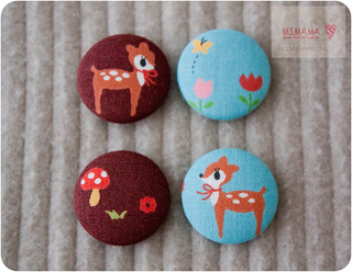 Little deer button | by Mimama Handmade