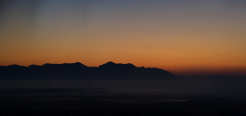 sun mist mountain sunrise venus cyprus valley transit nicosia