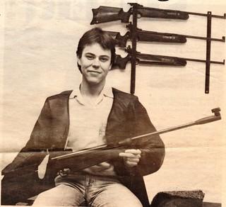 10m air rifle 40 shots kneeling position 1983