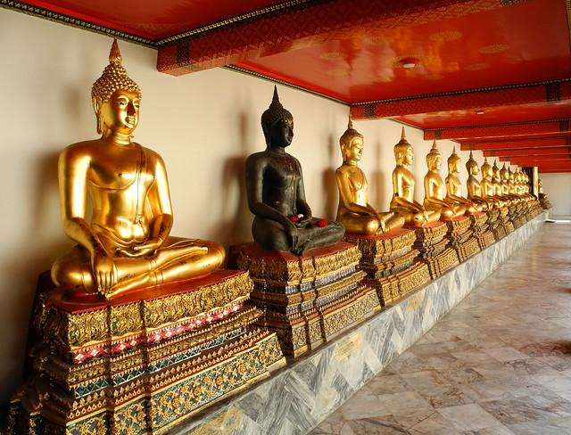 Soportales del Wat Pho