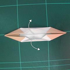 การพับกระดาษเป็นรูปเรือเรือสำปั้น (Origami Sampan) 010