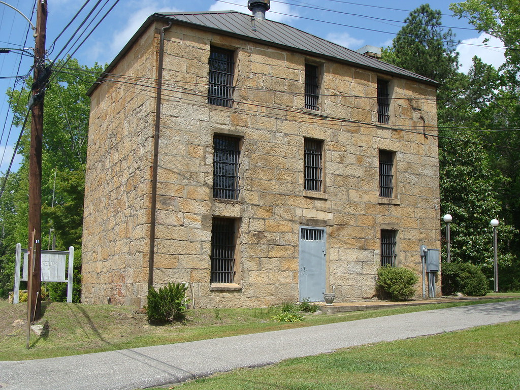 Coosa County Jail (Old) Rockford, Al ---NRHP   The old Coosa