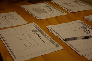 paper-based prototyping | by Samuel Mann