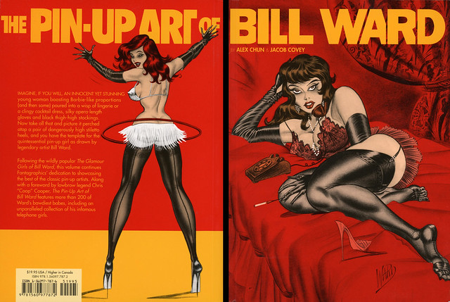 Fantagraphics Books - Alex Chun & Jacob Covey - The Pin-Up Art of Bill Ward (with back)