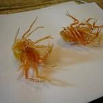 Shrimp Legs Tempura @Wakatake, Grand Takanawa Prince Hotel, Tokyo