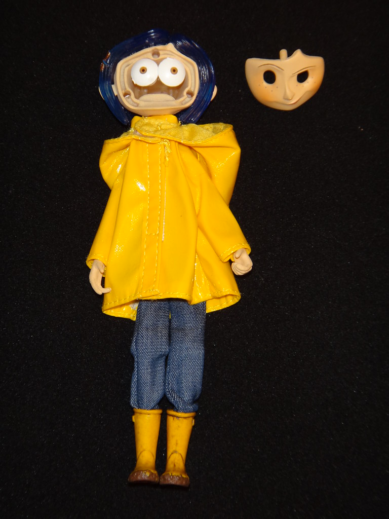Neca Coraline Raincoat Bendy 7 Doll Changing Eye Positions Flickr