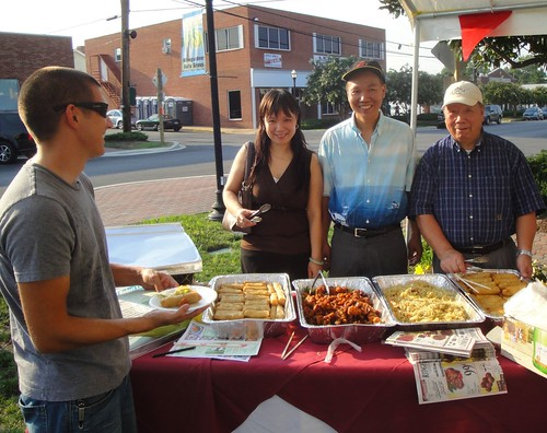 Street Food at First Friday, Leonardtown