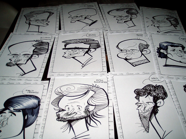 souvenirs caricatura