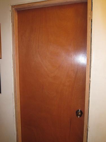 New bathroom door | by mimbles
