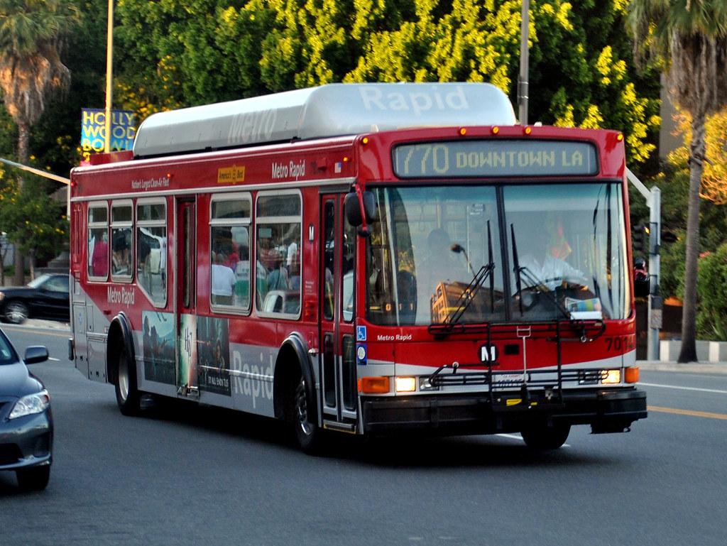 La Metro Rapid Line 770 Bus Los Angeles Ca An La