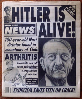 The Weekly World News: Hitler Is Alive! | by puuikibeach