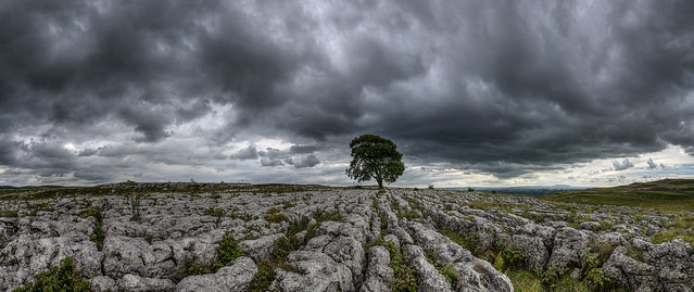 The Incoming Storm Malham Lings Yorkshire 09/2015