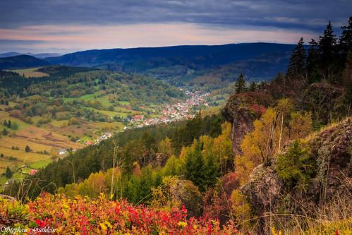nature germany landscape deutschland thüringen rocks natur thuringia landschaften felsen thüringerwald zwölfapostel oberschönau thurigianforest