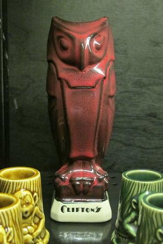 Clifton's owl mug   by The Tiki Chick