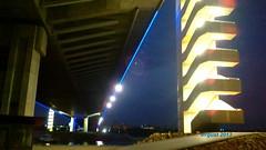 Ada Bridge, Belgrade, Serbia, August 2013; Most na Adi, Beograd, Srbija, avgust 2013 godine
