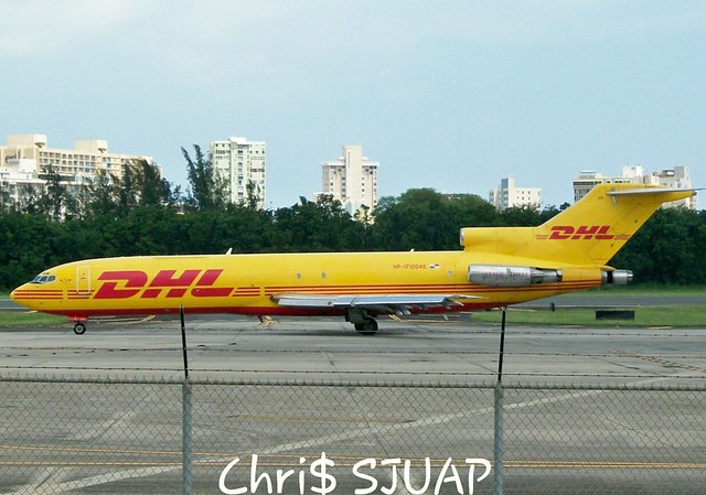 DHL/Boeing 727-2Q4