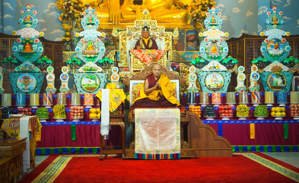 2014.01.20 The Opening Ceremony of the 1st Annual Arya Kshema Winter Dharma Gathering