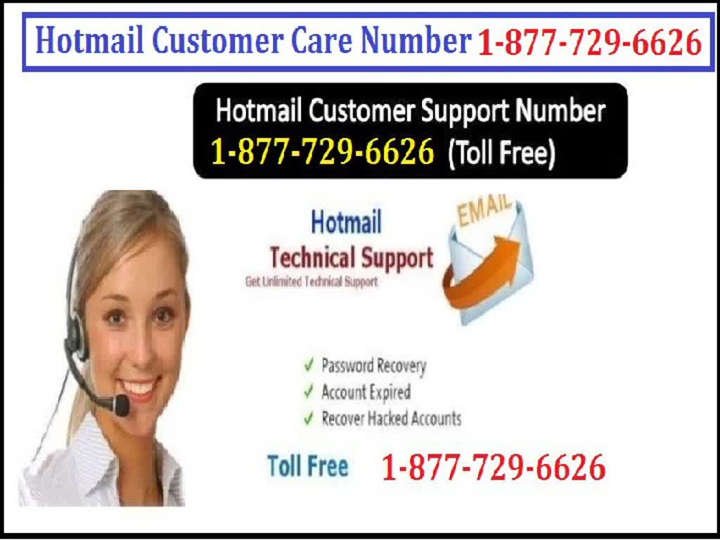 Call Hotmail Customer Care 1-877-729-6626 for Easy and dom… | Flickr