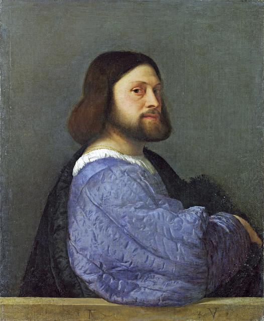 Titian - Gerolamo Barbarigo or L'Ariosto [1510]