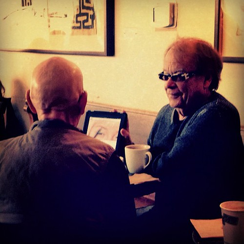 cute old guys discussing a beauty app | by sarahwulfeck
