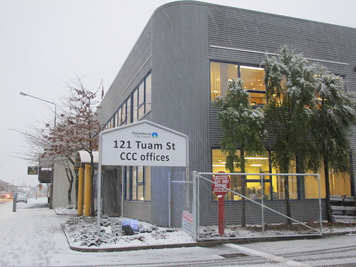Snow on Tuam Street