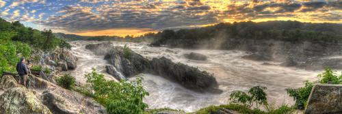 panorama nature sunrise virginia washingtondc waterfall dc nikon outdoor maryland tokina hdr circularpolarizer d300 photomatix 1116mm