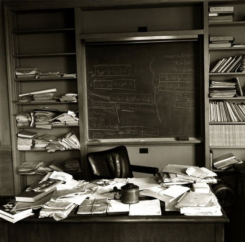 Einstein's Office   by James D Rucker