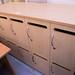 Ten door maple locker unit