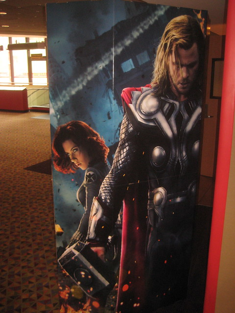 Avengers Movie Poster Standee 3713