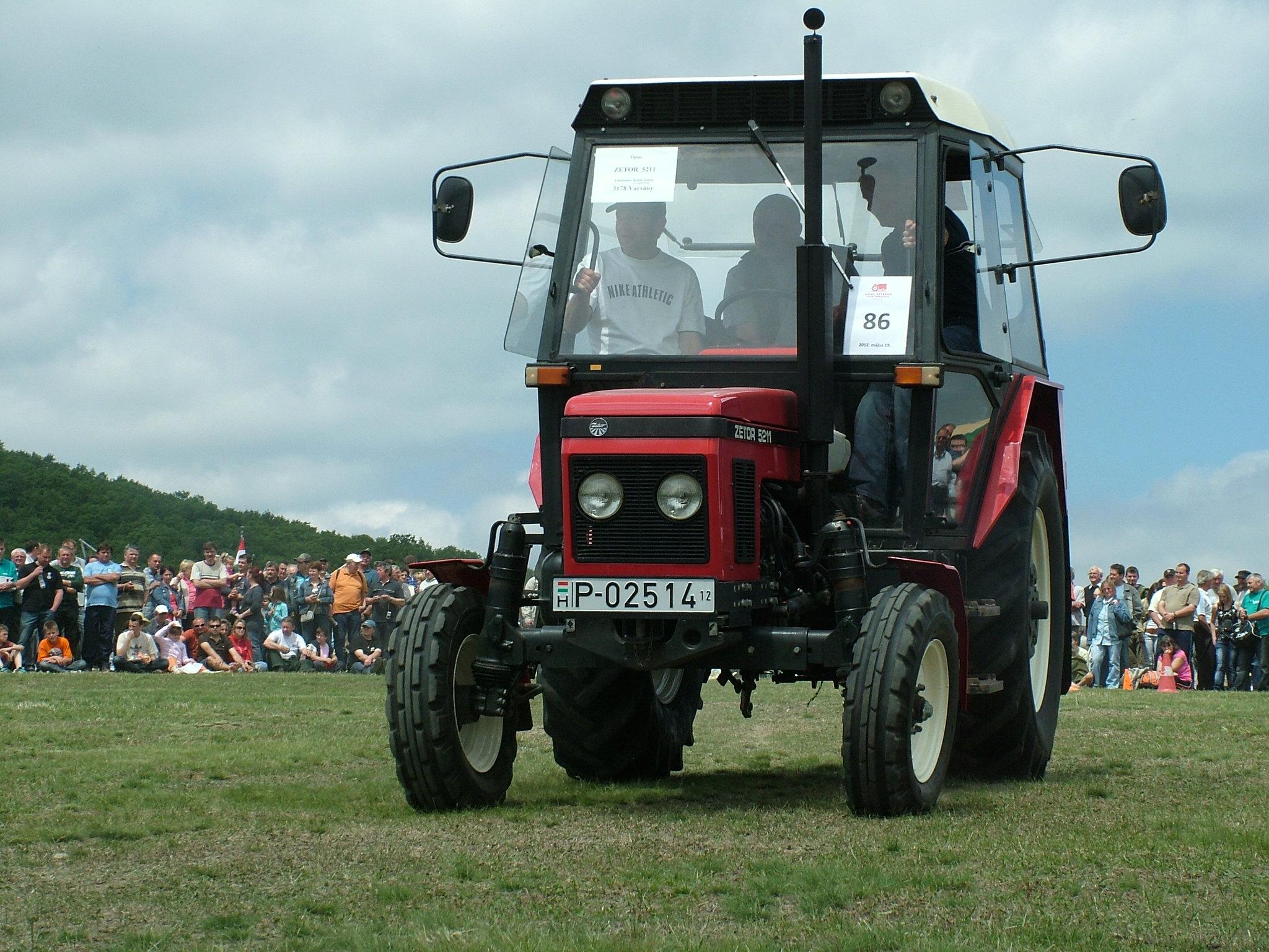 Zetor 5211, Bokor, Traktormajális 2012