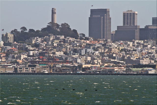 Hazy Day on Telegraph Hill