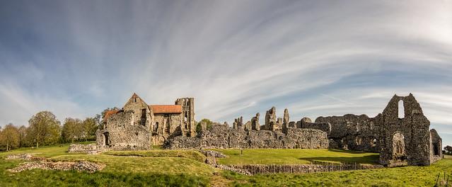 Castle Acre panorama