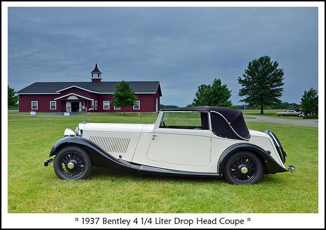 1937 Bentley 4 1/4 Liter Drop Head Coupe