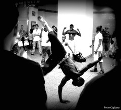 Breakdancer at 42nd St Station NYC