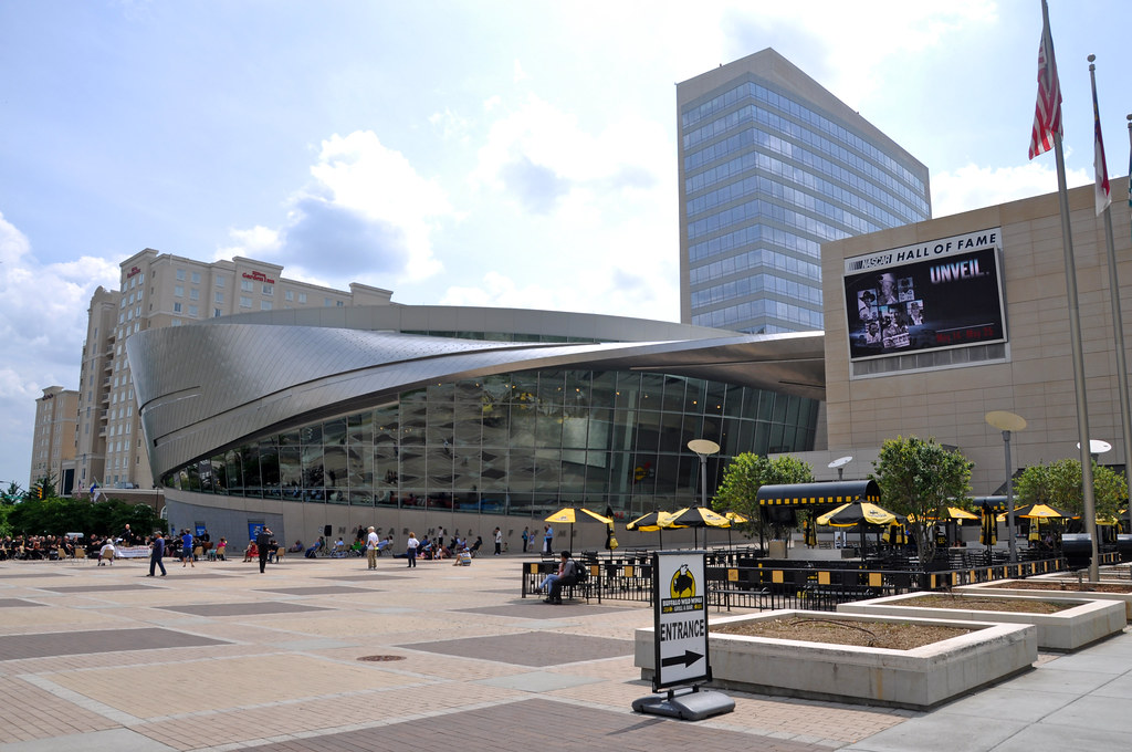 The NASCAR Hall of Fame in Charlotte