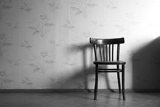 lonely chair in my room | by kstepanoff