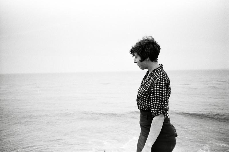 Christine at the beach