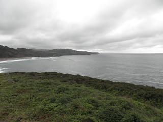 Desde Los Castros de Coaña hasta la playa