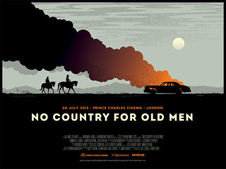 NO COUNTRY FOR OLD MEN poster | by James Whíte