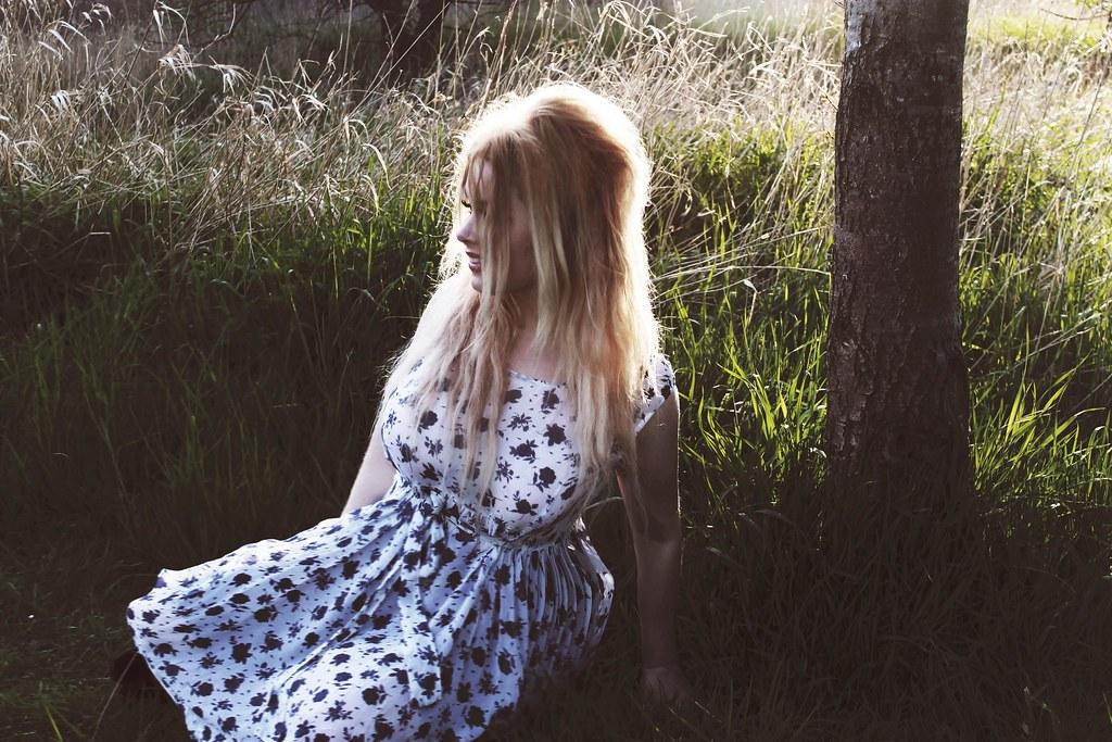 me in summerdress