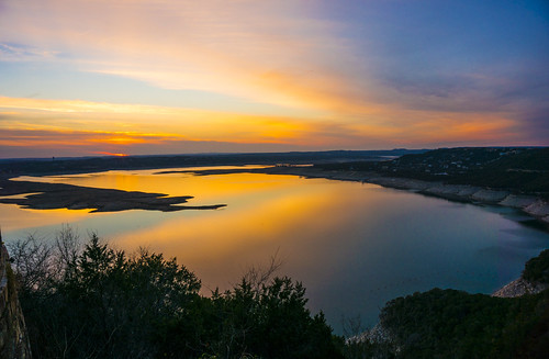 Lake Travis Sunset - Austin, Texas 2014 | by Anthony Quintano