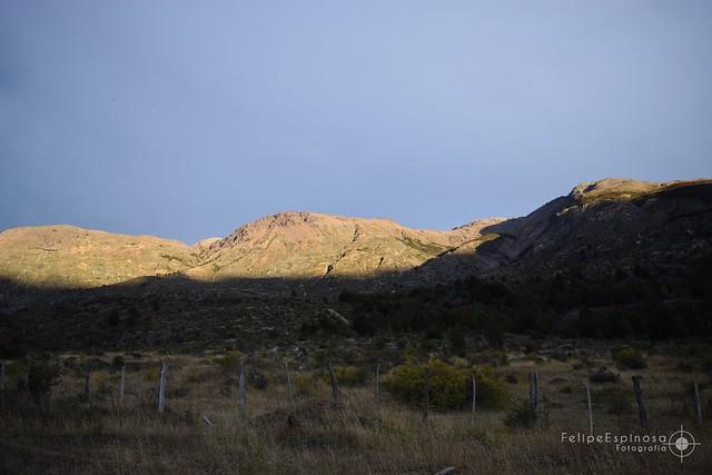 Atardecer entre Cerros