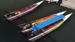 Long-tail Boats, Khwae Yai River, Kanchanaburi